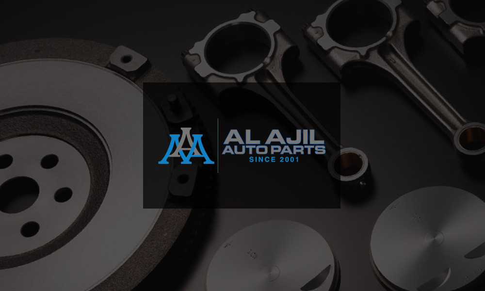 Al Ajil Auto Parts Trading Co. Official Logo
