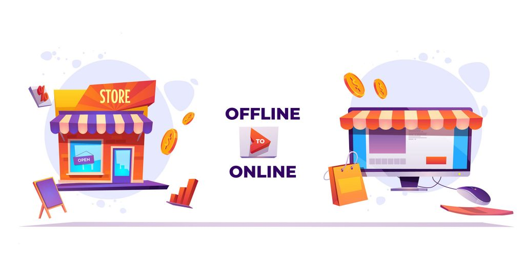 Turn your store from offine to online